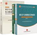 2020年审计师考试教材上下册 +复习指南 全套3本 初中级通用(赠送视频课件)